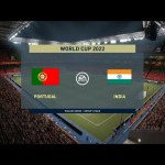 FIFA World cup 2022 Match #1 - Portugal vs India : FIFA 21 Full Match