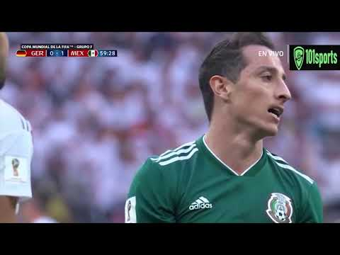 Germany vs Mexico 0 X 1 FIFA World Cup 2018|Goal & Highlights