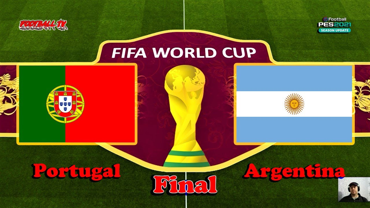 PES 2021 | PORTUGAL vs ARGENTINA | FIFA WORLD CUP 2022 FINAL | Gameplay PC