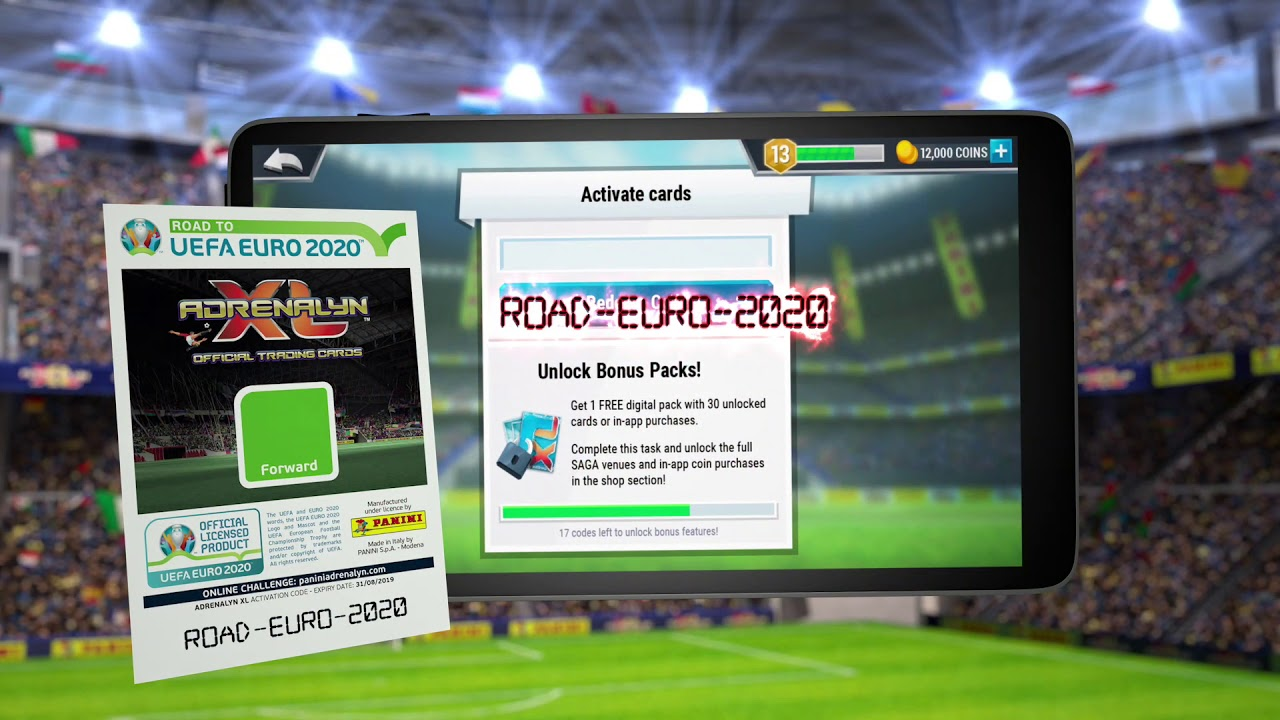 Road to UEFA EURO 2020™ Adrenalyn XL™ Online Game