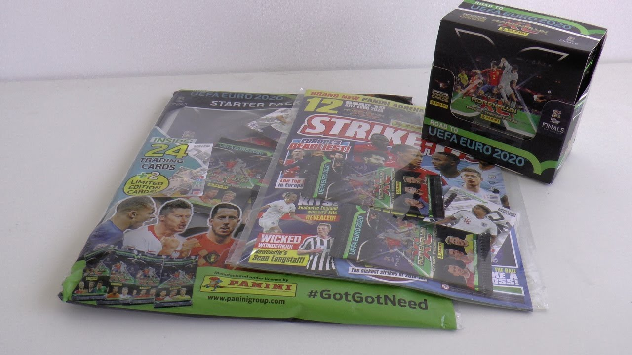 ? STARTER PACK, BOOSTER BOX, MAGAZINE OPENINGS ! | ADRENALYN XL ROAD TO EURO 2020 Cards ? Panini
