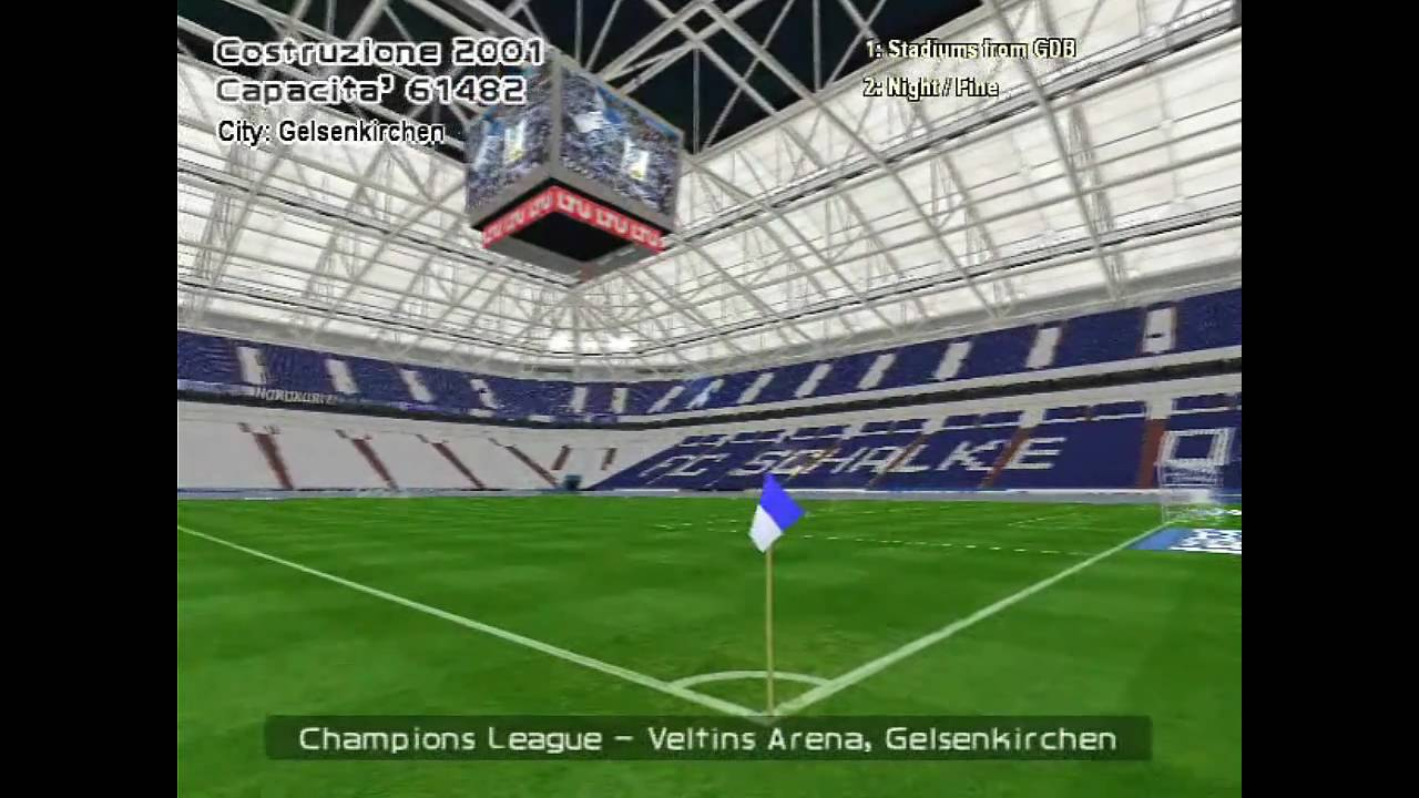 UEFA Champions League stadiums in PES 6 (HD 720p)