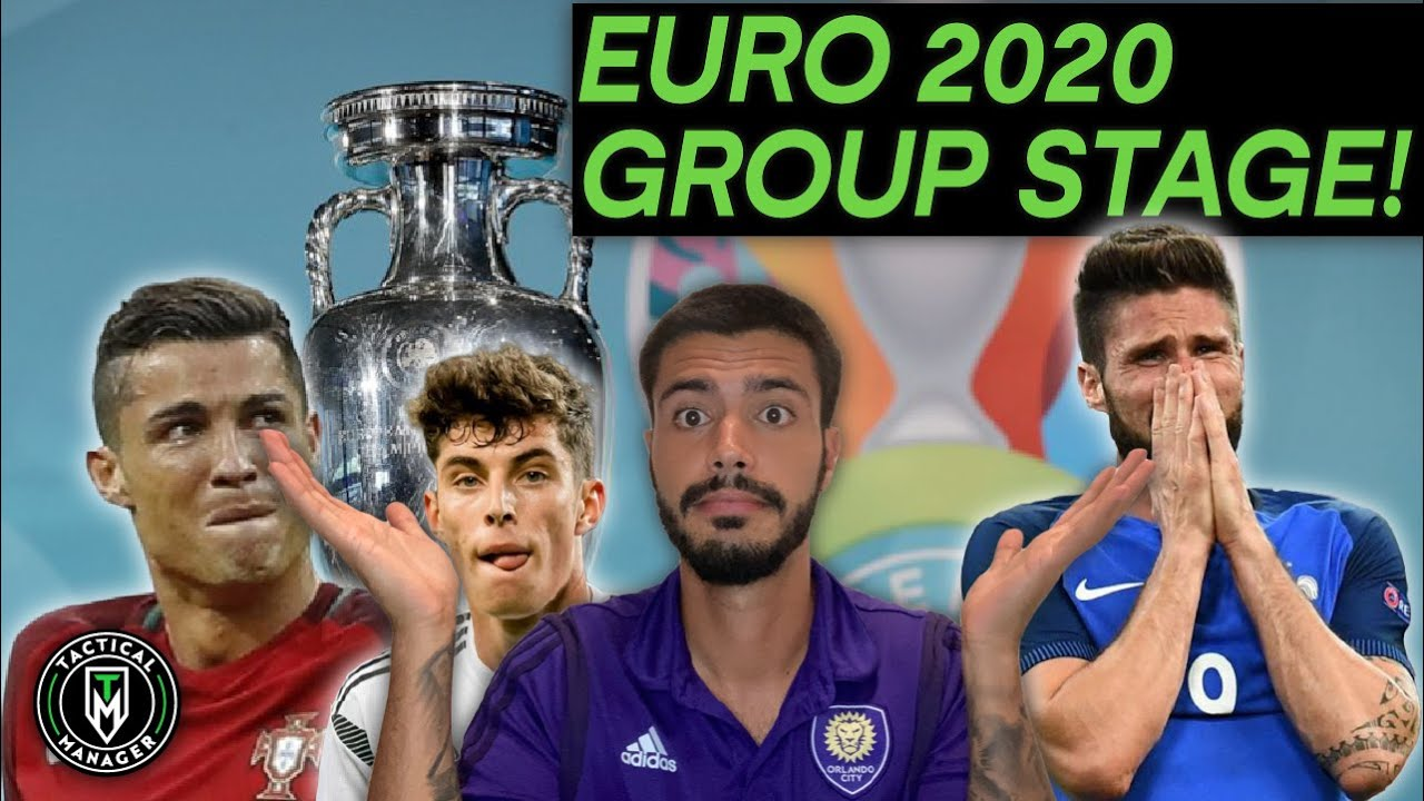 UEFA Euro 2020 Groups are OUT REACTION !! BONUS: Predictions !