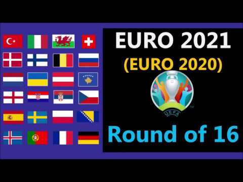 UEFA Euro 2021 - (Euro 2020) - Round of 16 predictions