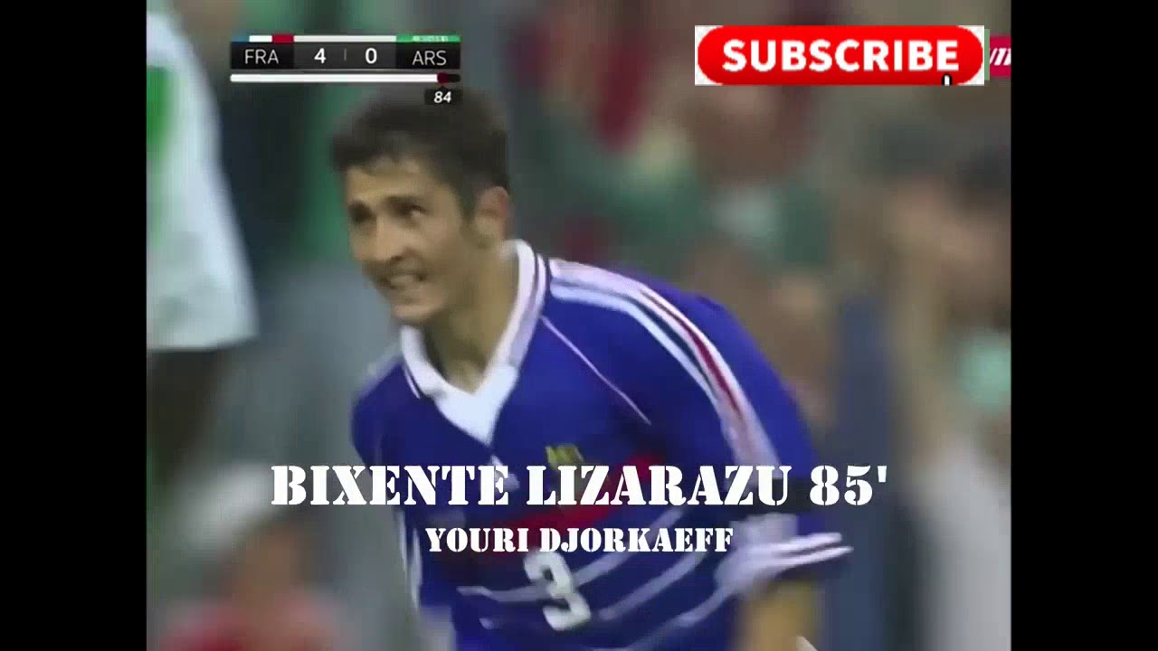 WORLD CUP 1998 FRANCE ALL GOAL MOMENT