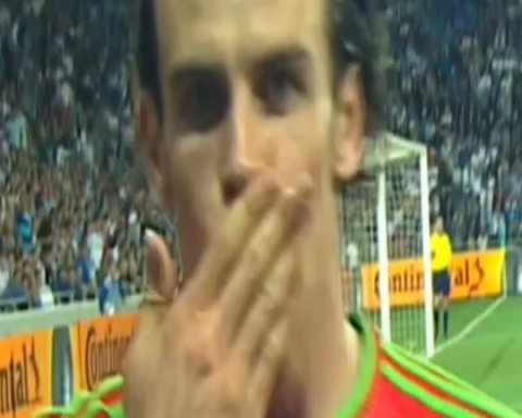 Bale, up close and personal. What is/would be your goal celebration?...
