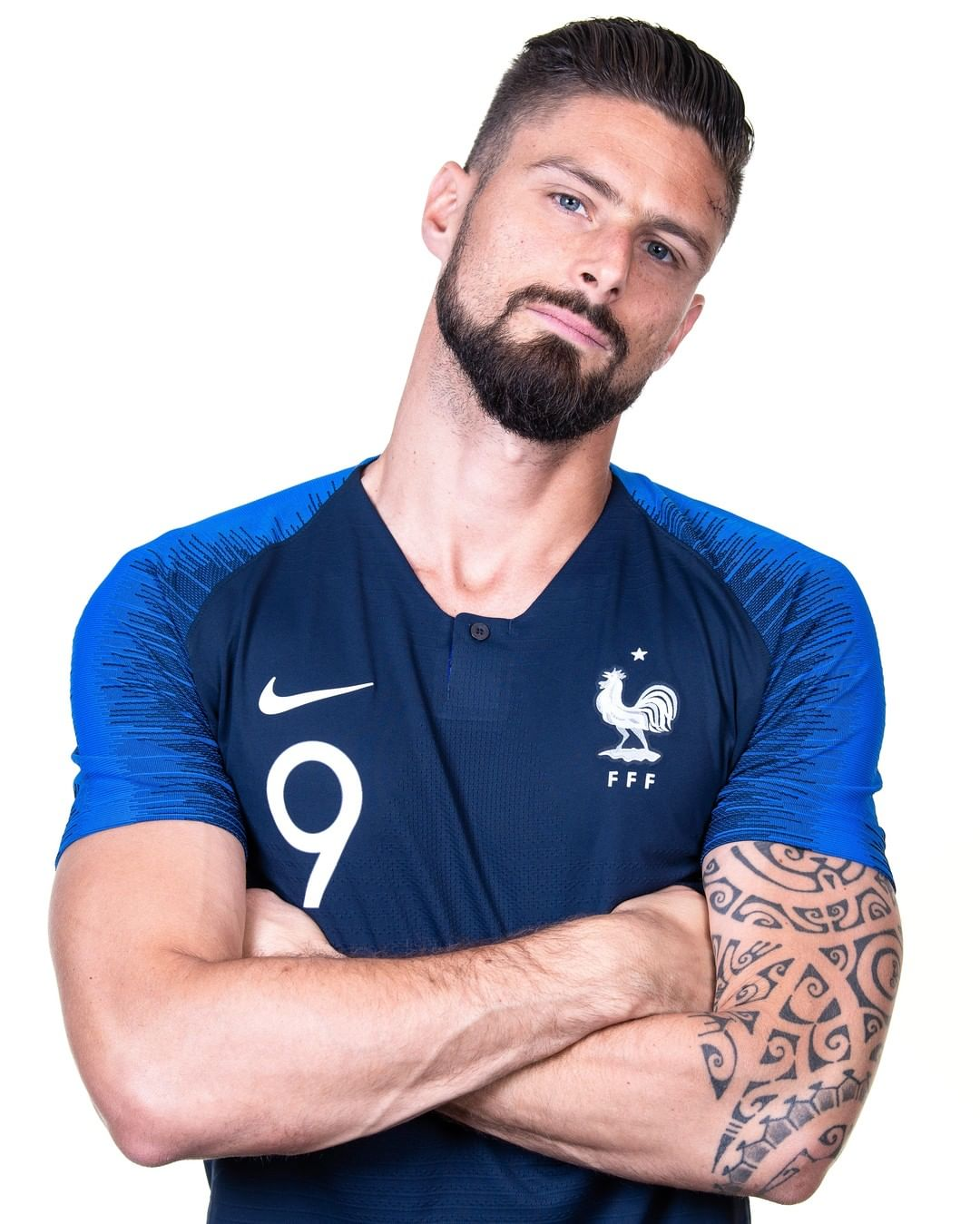 Olivier Giroud = in France's strongest XI at  ...