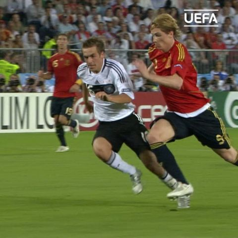 Show your reaction to Fernando Torres' EURO 2008 winner using emoji only!...
