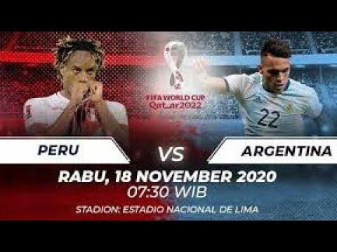 Argentina vs Peru Live | Fifa Qualifier Match Live | Qatar World Cup 2022 Live