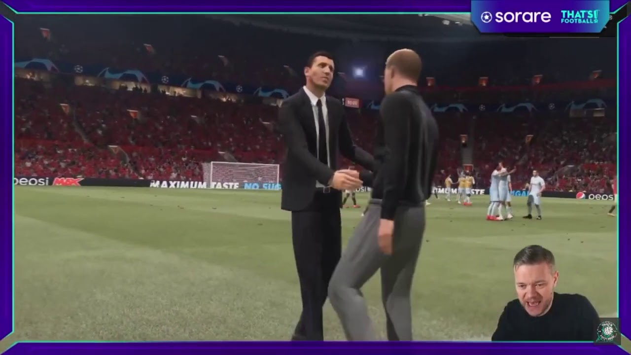 GOLDBRIDGE GETS THRASHED IN THE CHAMPIONS LEAGUE QUARTER FINALS - FIFA 21