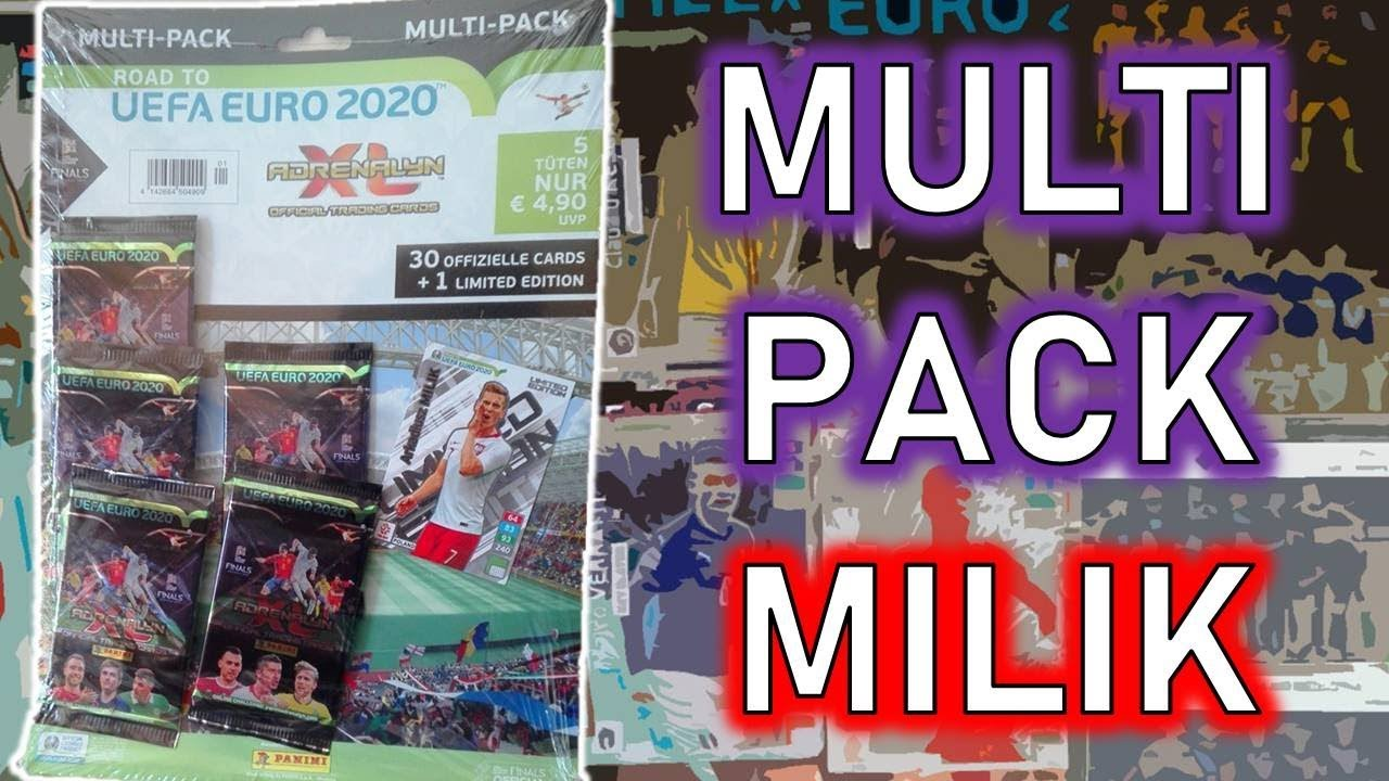 MULTIPACK w/ MILIK Limited Edition / Road To UEFA Euro 2020 Adrenalyn XL