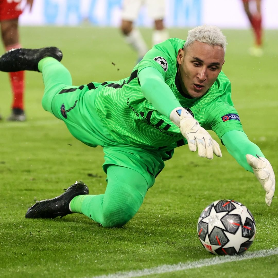 Is Keylor Navas your number one in the  ...