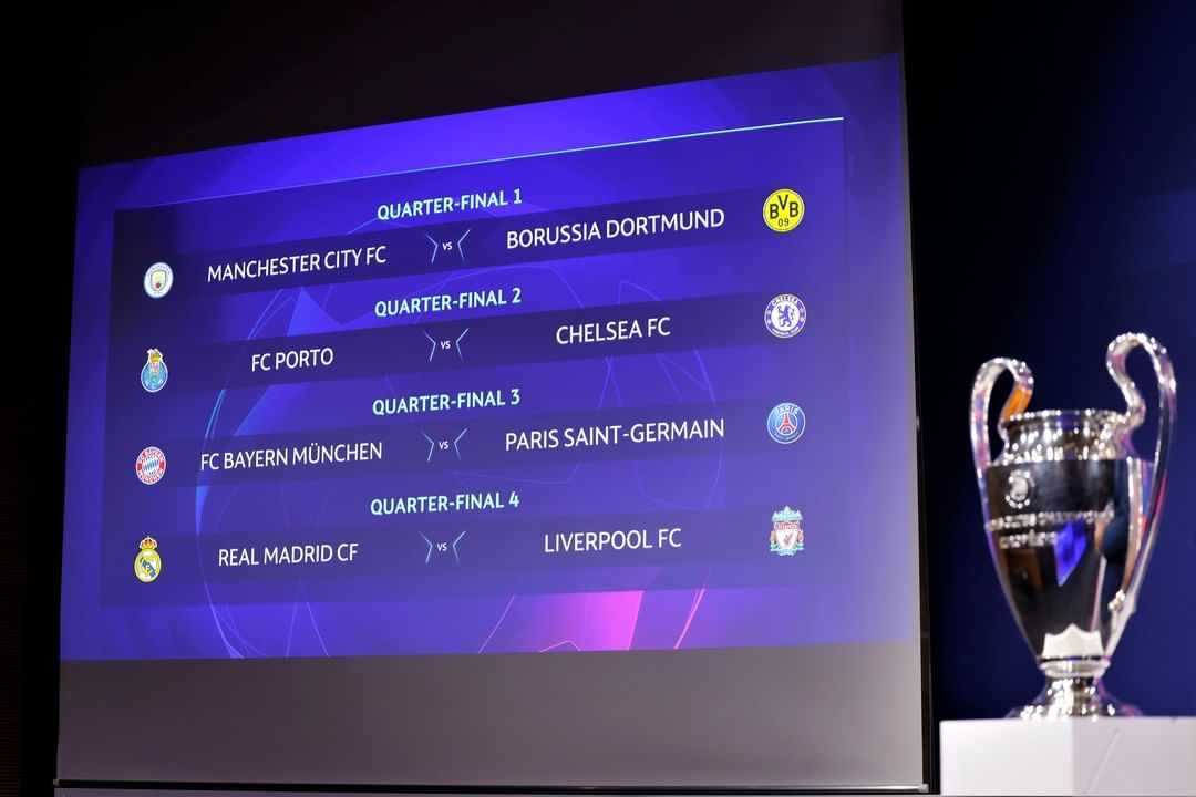 Under a week to go!  Who'll win their first leg?   ...