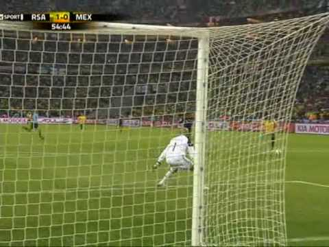 2010 World Cup 1st goal by south africa