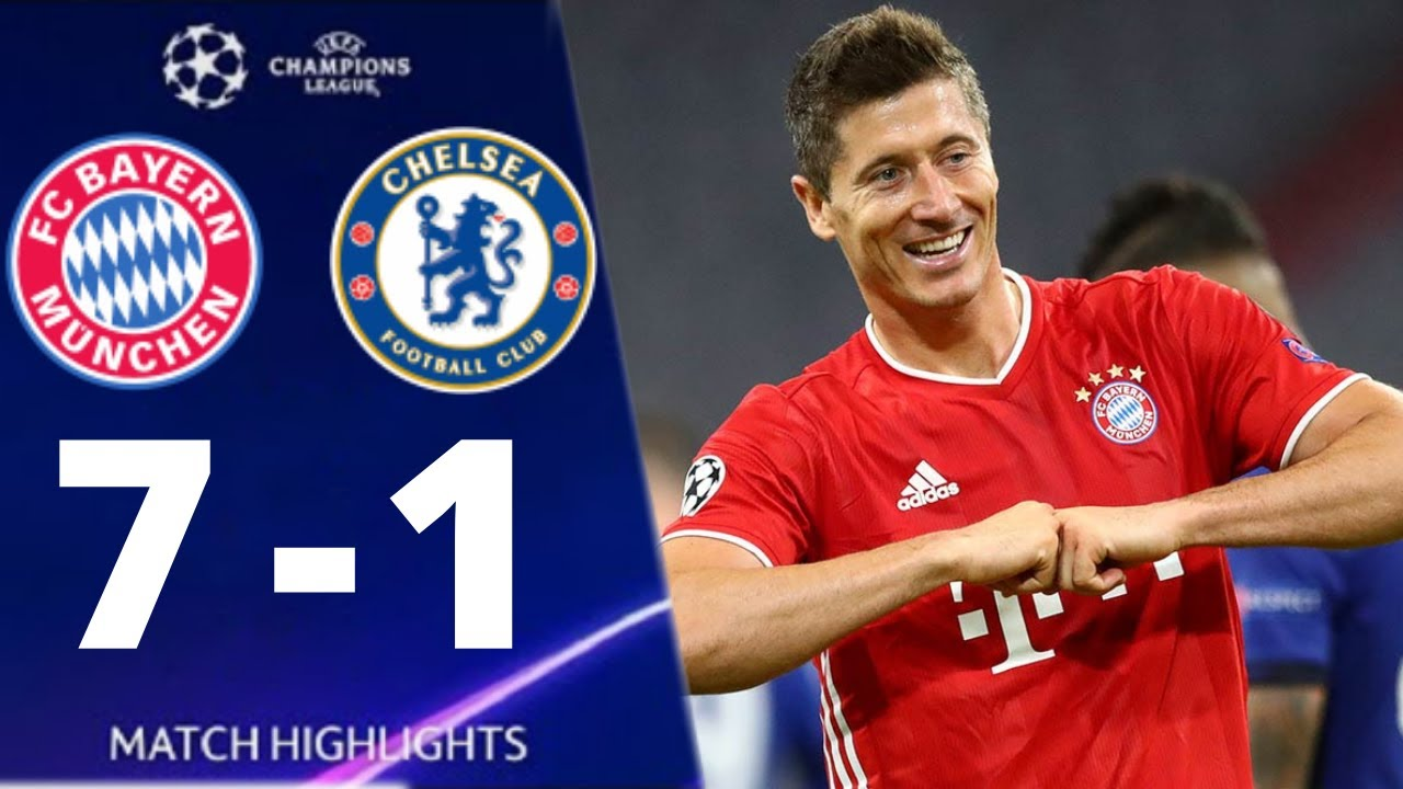 Bayern Munich vs Chelsea 7-1 UEFA Champions League 2020 All Goals And Extended Highlights
