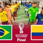Brazil vs Colombia | Final FIFA World Cup 2022 | PES 2021 Gameplay PC