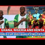 GHANA, NIGERIA & KENYA'S FIXTURE SCHEDULE FOR WORLD CUP 2022 QUALIFYING REVEALED