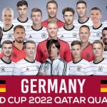 Germany Squad World Cup 2022 Qatar Qualifier