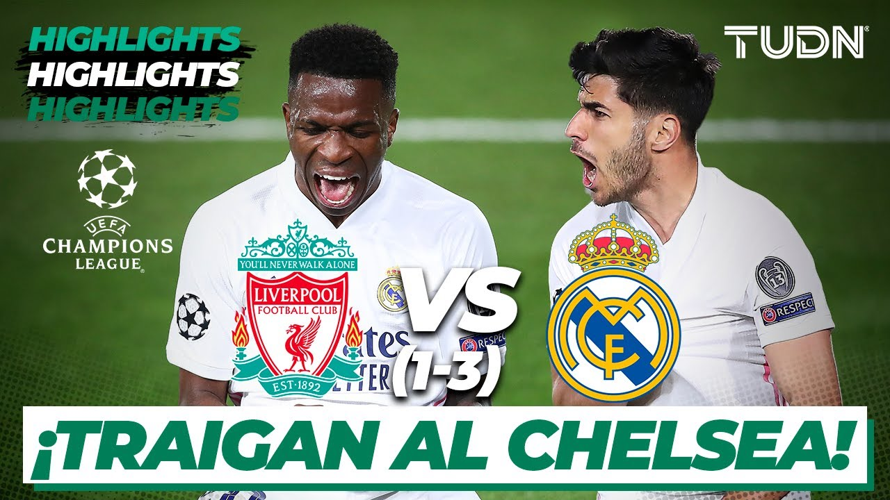 Highlights | Liverpool 0(1)-(3)0 Real Madrid | Champions League 2021 - Cuartos Vuelta | TUDN