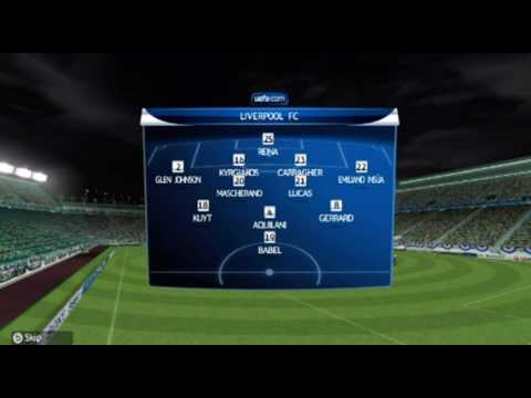 Pro Evolution Soccer 2010 Wii UEFA Champions League Gameplay - Group D Match Day 4 HD