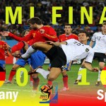 Spain vs Germany 1x0 FIFA World Cup Semi Final 2010 Goal & Highlights