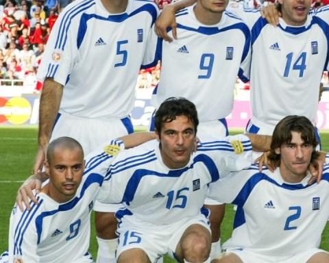 Greece at EURO 2004  Favourite players from this starting XI?...