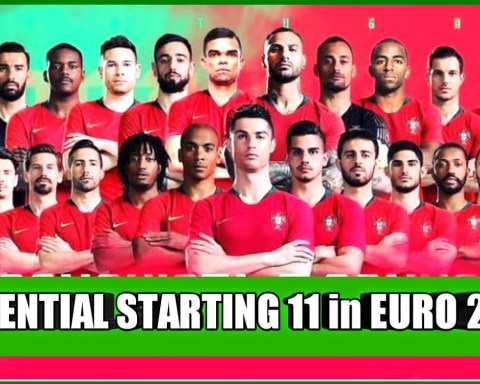 EURO 2020 - PORTUGAL POTENTIAL LINE-UP FOR EURO 2021 |  CRISTIANO RONALDO