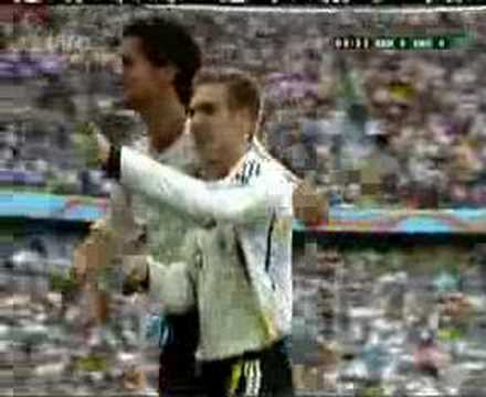 Lahm Goal Germany v Costa Rica (1st goal of the world cup)