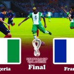 NIGERIA vs FRANCE - Final FIFA World Cup 2022 - PES 2021 Gameplay PC