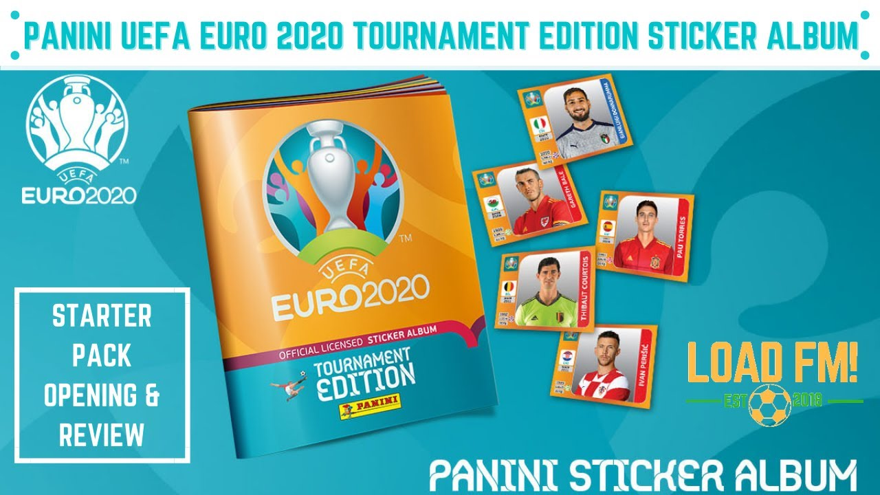 PANINI UEFA EURO 2020 TOURNAMENT EDITION STICKER ALBUM | STARTER PACK UNBOXING & REVIEW