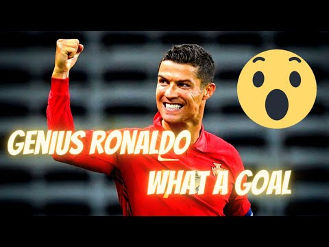 ? What A Goal By Genius Men Cristiano Ronaldo |  FIFA World 2018 #shorts
