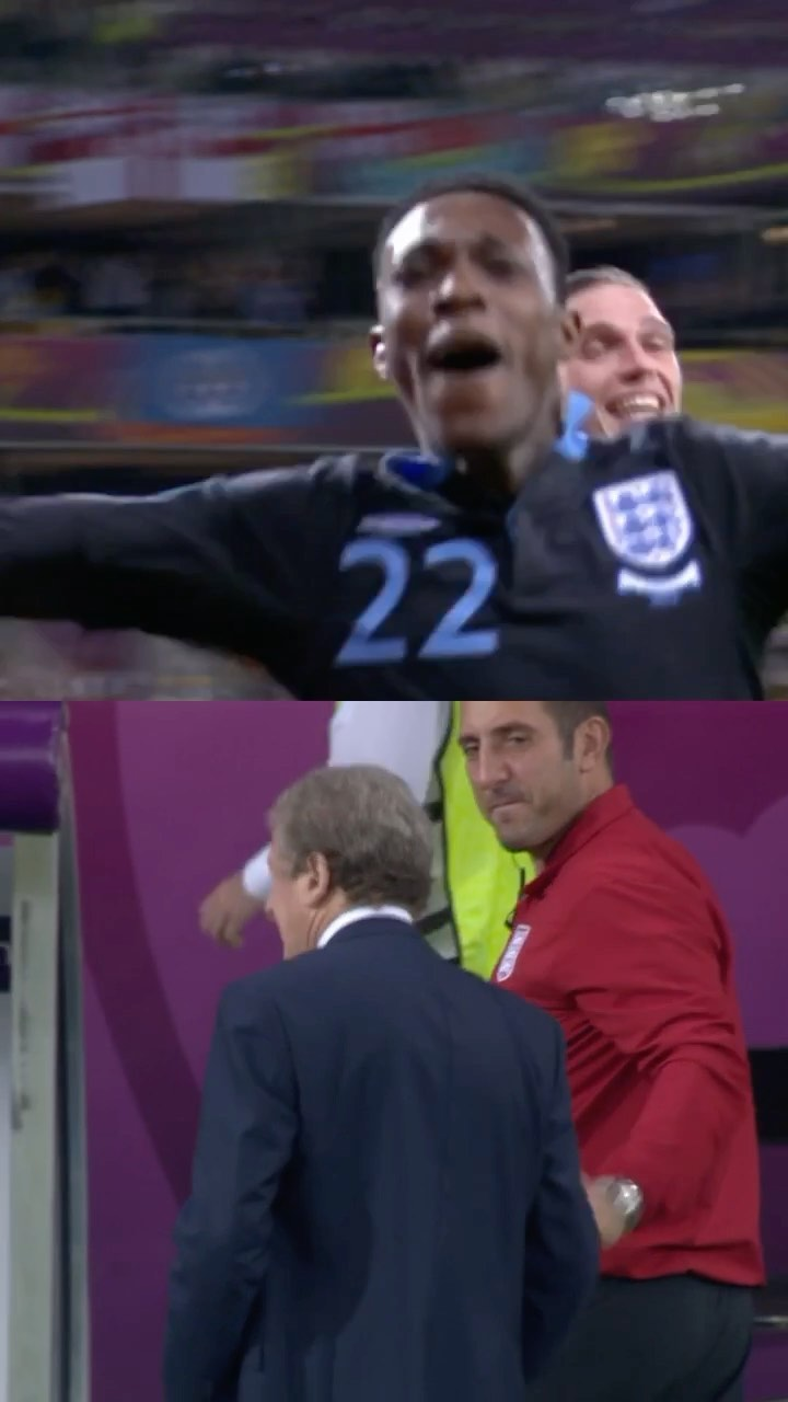 BENCH CAM  Welbeck's finish at EURO 2012  ...