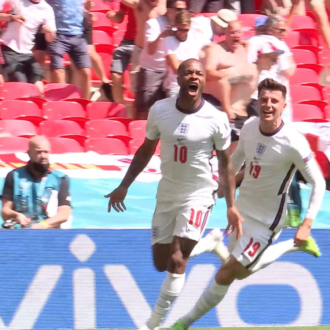 Raheem Sterling continues his fine form for England   Sterling vs Croatia = ___...
