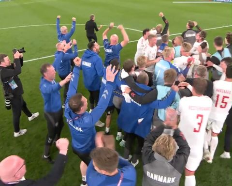 Wait for it...   Denmark have their Round of 16 fate confirmed!   ...