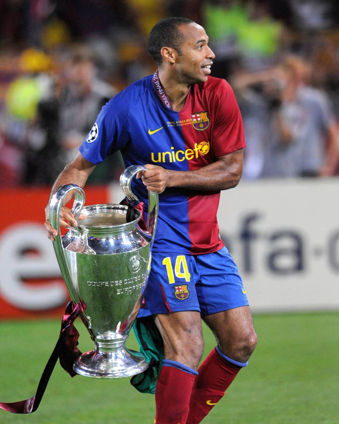 14 years since Thierry Henry joined Barcelona. The rest is history.      ...