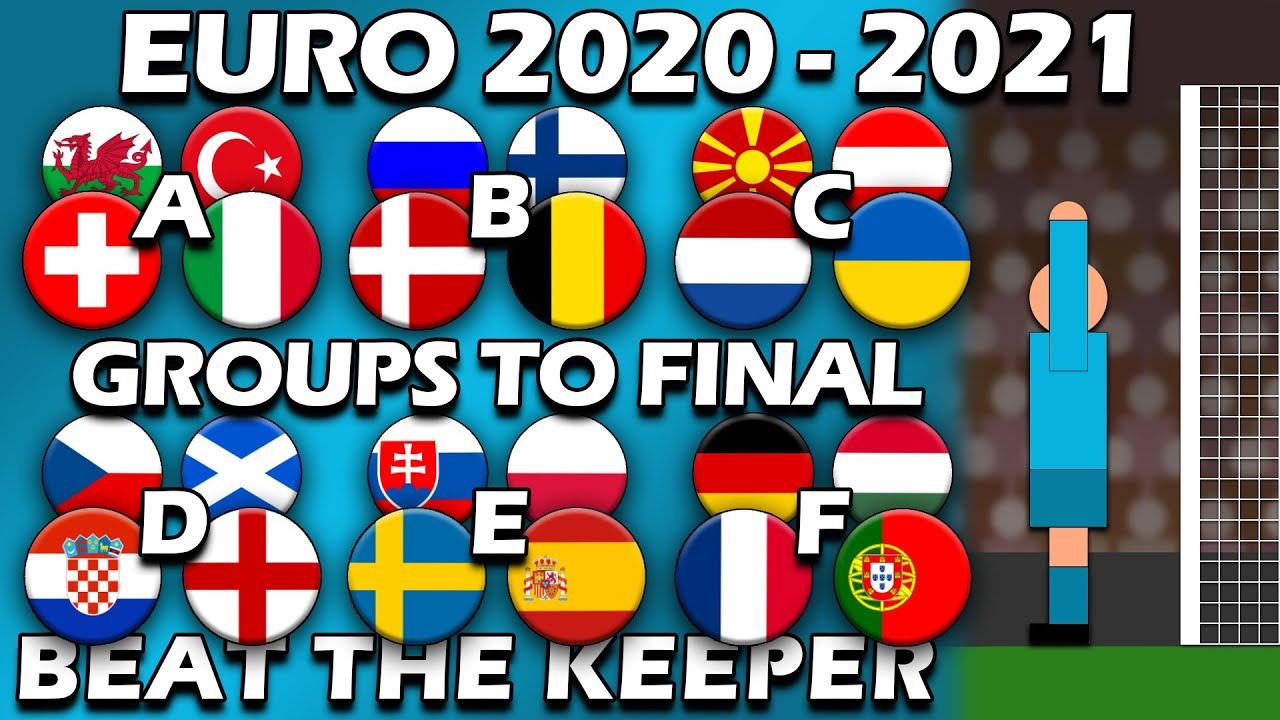Beat The Keeper ? EURO 2020 2021 ? Group Matches to Final