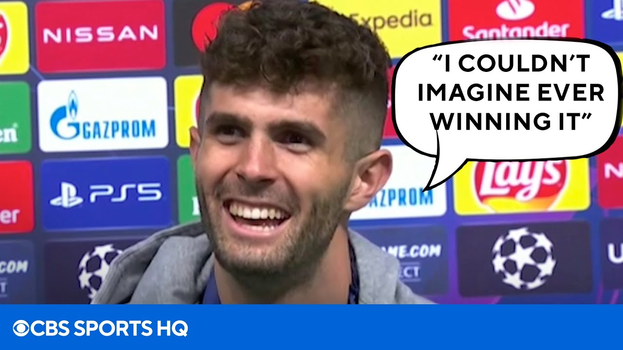 Christian Pulisic Interview After Winning the Champions League with Chelsea | CBS Sports HQ