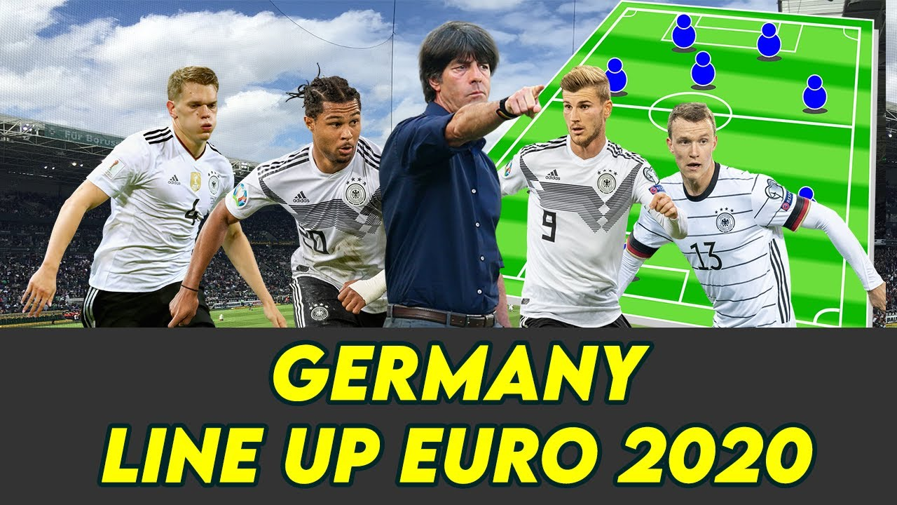 How Will GERMANY Line Up EURO 2020 !!!