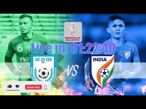 IND ?? vs BAN ?? || FIFA World Cup 2022 Qualifiers || LIVE