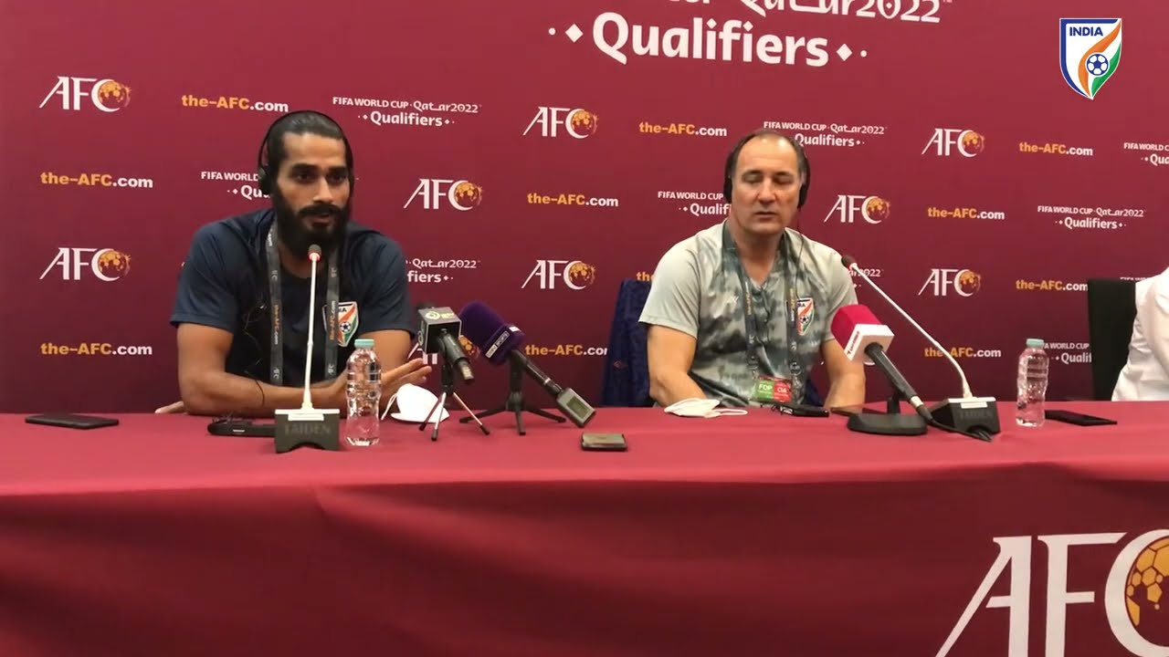 India vs Bangladesh | FIFA World Cup 2022 & AFC Asian Cup 2023 Joint Qualifiers | Press Conference
