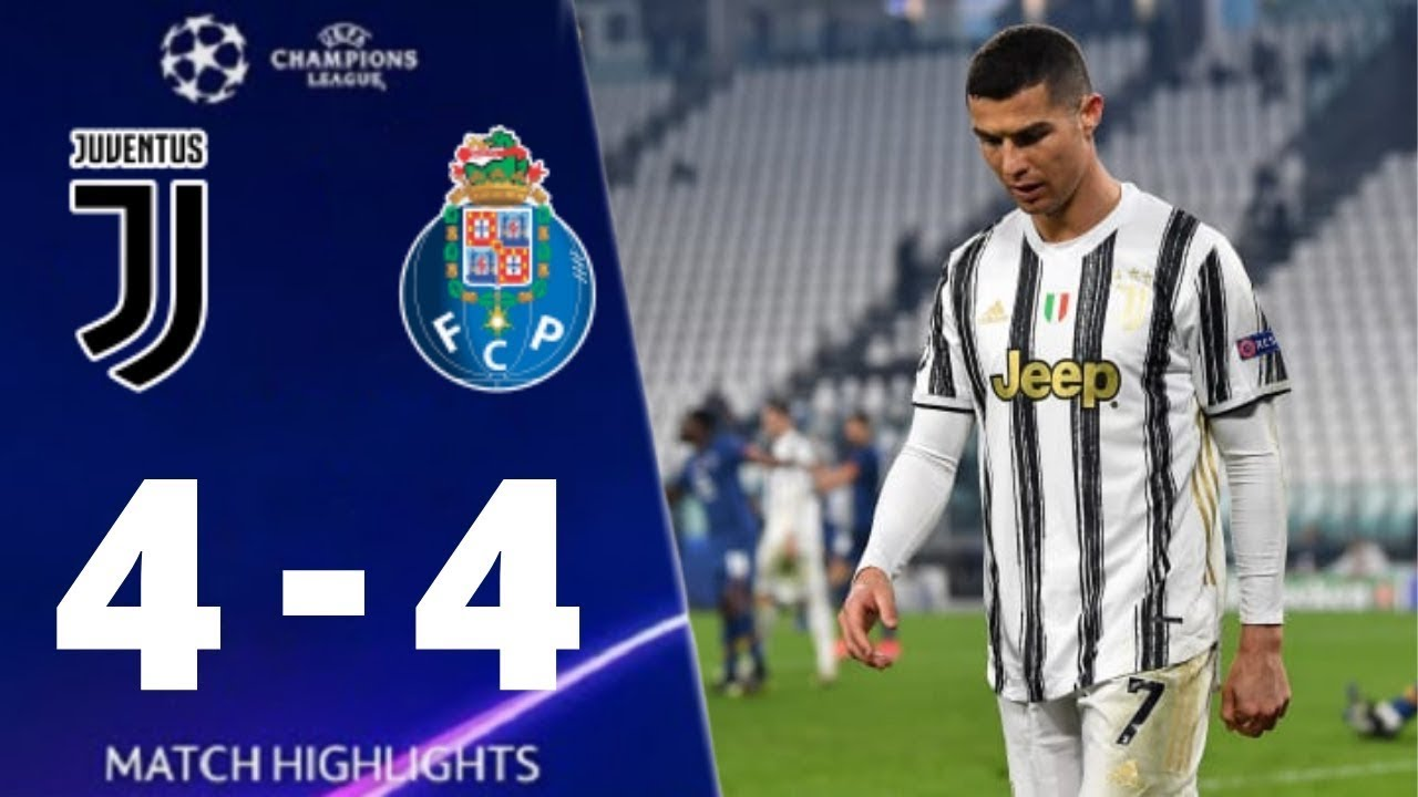 Juventus vs Porto 4-4 UEFA Champions League 2021 All Goals And Extended Highlights  FootBall