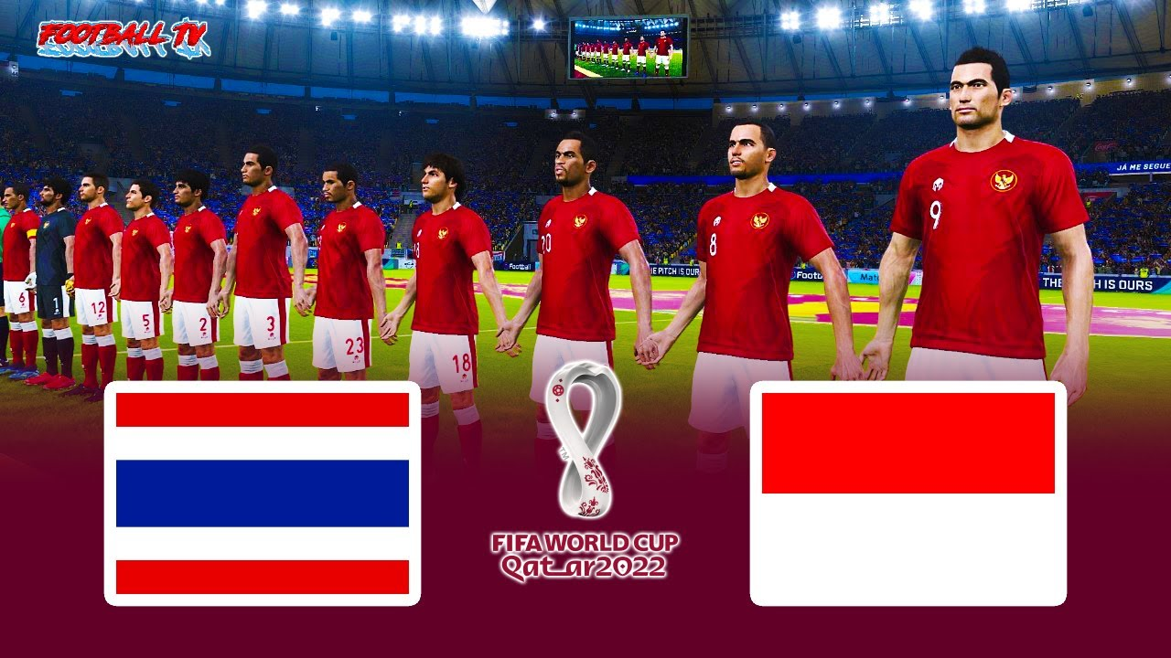 PES 2021 - THAILAND vs INDONESIA - FIFA WORLD CUP 2022 - Gameplay PC