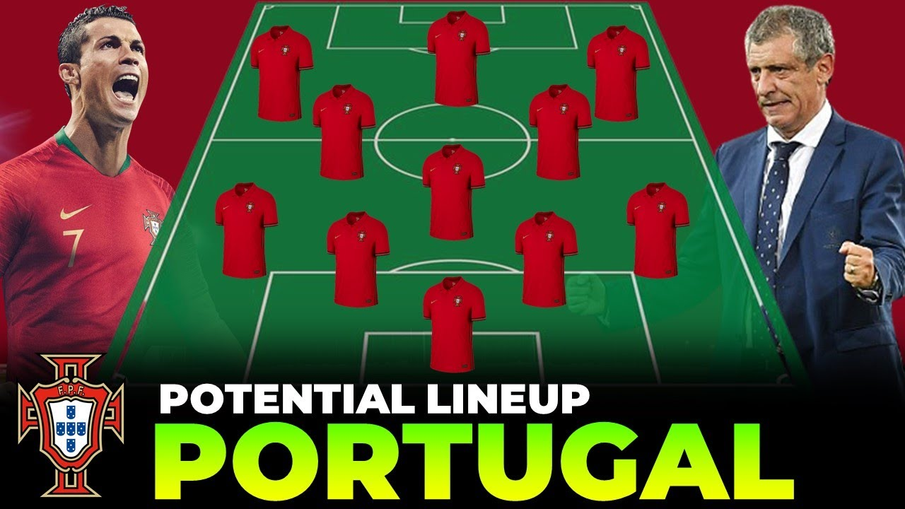 Portugal Potential Lineup for UEFA Euro 2020 (2021)