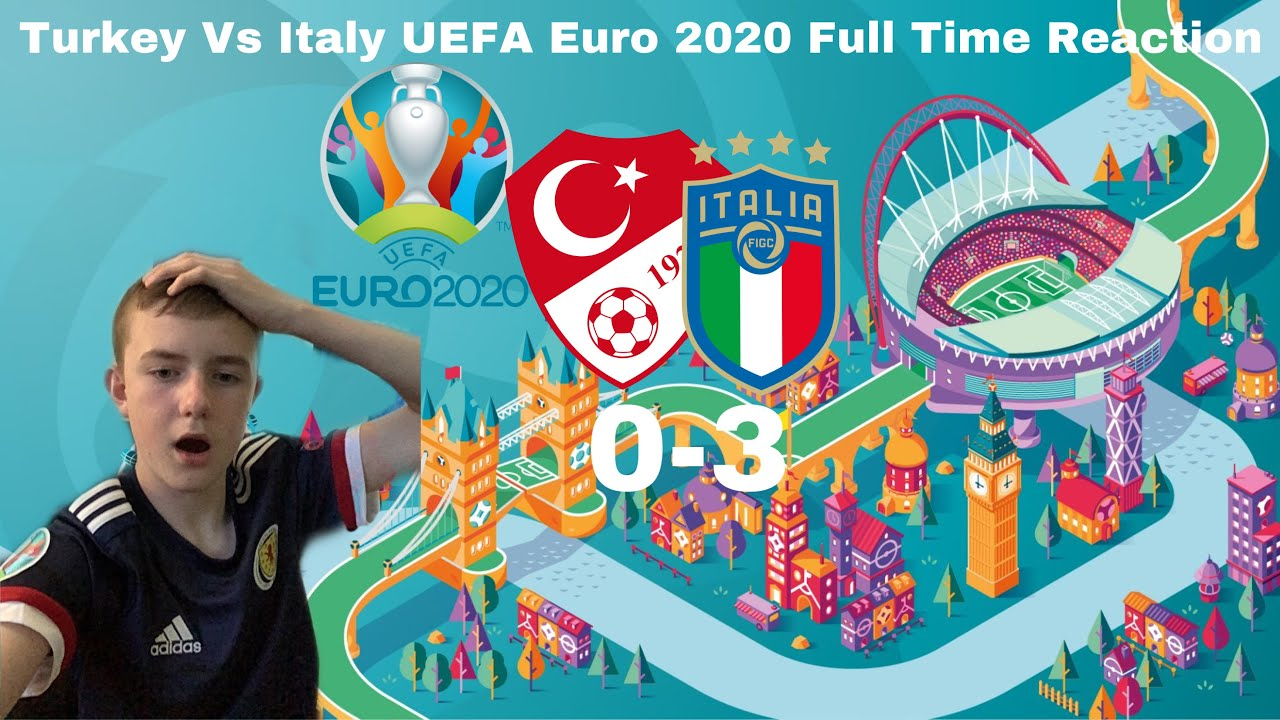 Turkey 0-3 Italy - UEFA Euro 2020 Full Time Reaction ( Immobile And Insigne With The Goals )