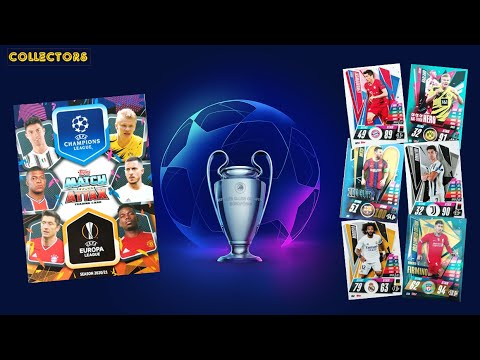UEFA CHAMPIONS LEAGUE / EUROPA LEAGUE 2020-21 - FULL TRADING CARDS COLLECTION