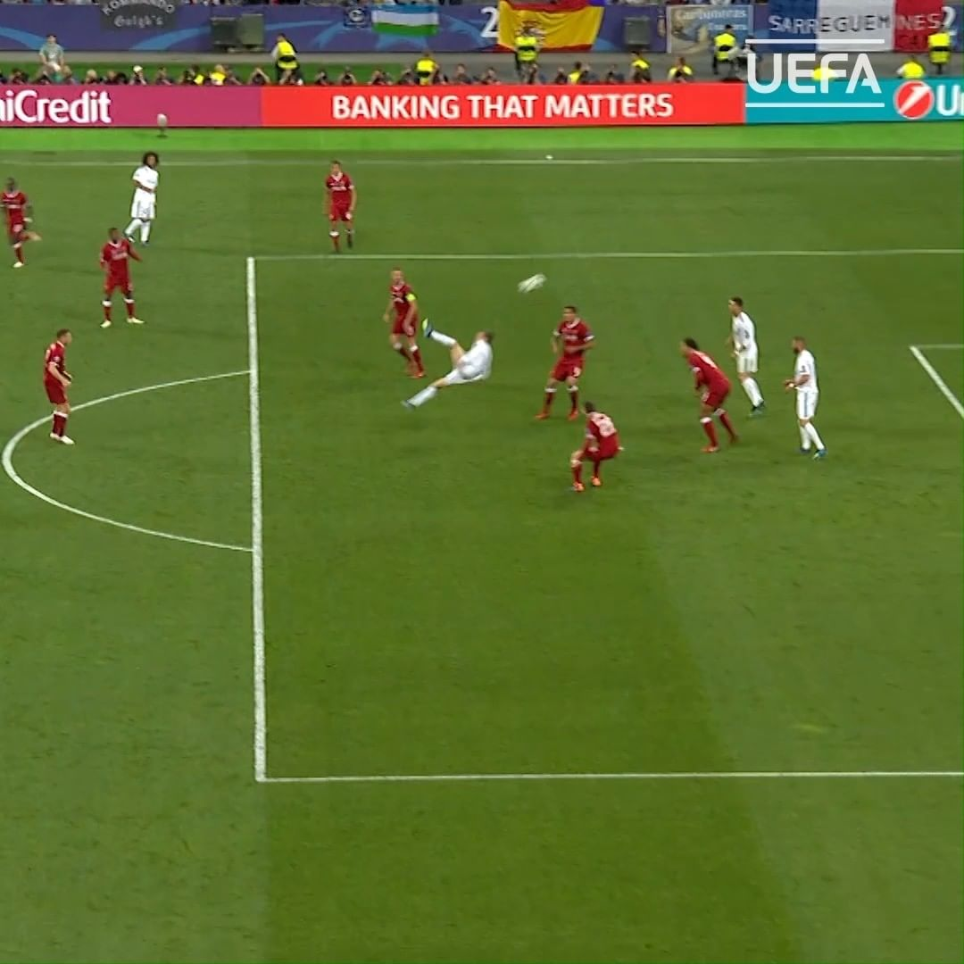 Gareth Bale's best  moment?   2018 Final golazo  2014 Final goal in extra time ...
