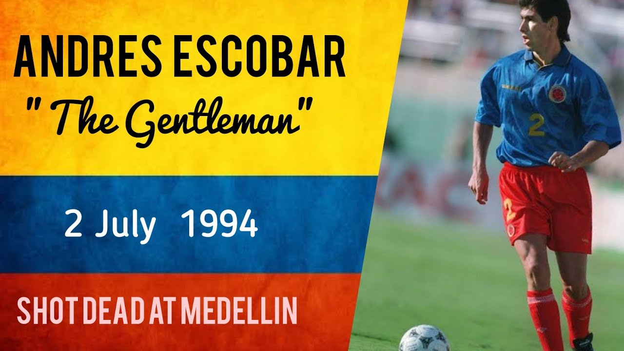 Andres Escobar | Colombian Defender | Own Goal Resulted in his Death| FIFA 1994 |