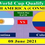 Argentina vs Colombia - 08 June 2021 - FIFA World Cup 2022 - South African Qualification Round
