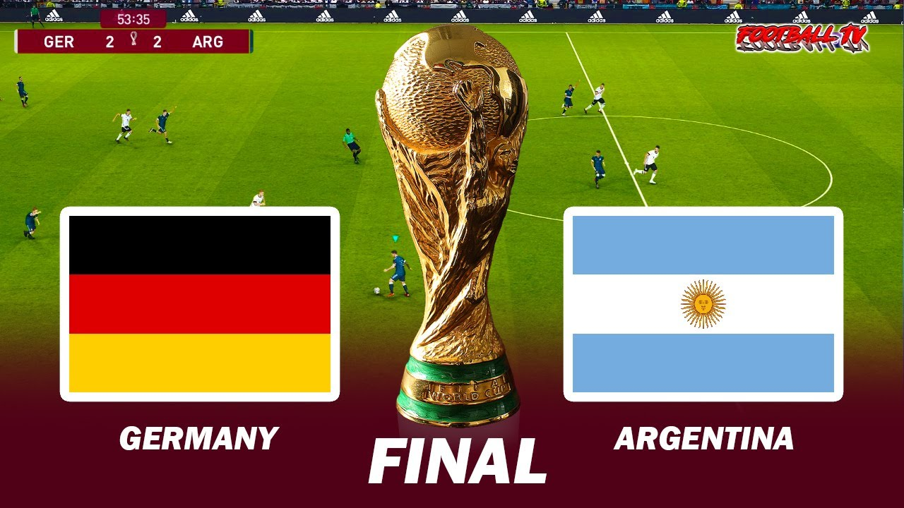 Germany vs Argentina - Final FIFA World Cup 2022 - eFootball PES 2021