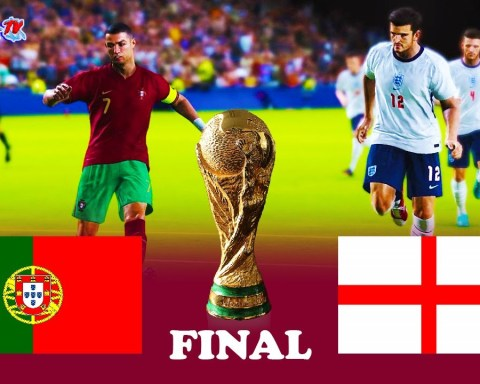 Portugal vs England - Final FIFA World Cup 2022 - Full Match - PES 2021 eFootball